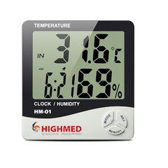 HM-01 – Termo-Higrômetro Digital Parede Mesa