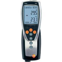TESTO 635-1 – Termo-Higrômetro com Função de Dew Point
